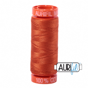 Aurifil 50 Cotton Thread - 2240 (Rusty Orange)